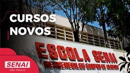 Veja os novos cursos oferecidos pelo SENAI Guarulhos
